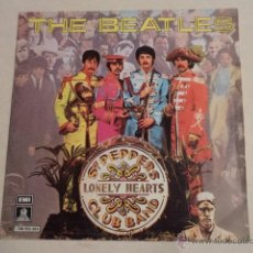 Discos de vinilo: SINGLE THE BEATLES - SGT. PEPPERS LONELY HEARTS CLUB BAND / WITHIN YOU WITHOUT YOU. Lote 54349150