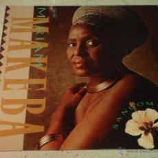 Discos de vinilo: MIRIAM MAKEBA ( SANGOMA ) 1988 - GERMANY LP33 WARNER BROS RECORDS. Lote 54351941