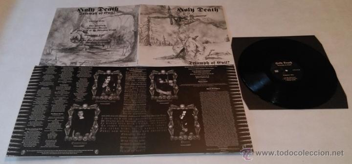 HOLY DEATH-TRIUMPH OF EVIL-LP BLACK METAL (Música - Discos - LP Vinilo - Heavy - Metal)