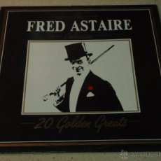 Discos de vinilo: FRED ASTAIRE ( 20 GOLDEN GREATS ) 1985 - ITALY LP33 DEJA VU. Lote 54353870