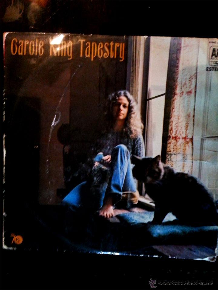 VINILO LP DE - CAROLE KING TAPESTRY - AM RECORDS 1971. (Música - Discos de Vinilo - EPs - Grupos Españoles de los 70 y 80)