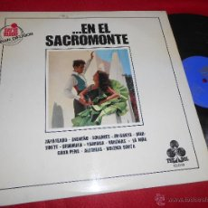 Discos de vinilo: GRUPO GITANO DEL SACROMONTE EN EL SACROMONTE LP 1970 TREBOL GRANADA. Lote 54358977