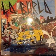 Discos de vinilo: LA BURLA: ME TIRO POR EL SUELO. Lote 54361560