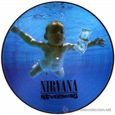 Discos de vinilo: NIRVANA LP NEVERMIND EDICION LIMITADA EN PICTURE DISC MUY RARO COLECCIONISTA. Lote 206565636