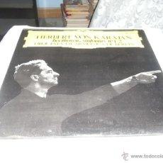 Discos de vinilo: HERBERT VON KARAJAN, BEETHOVEN SINFONIAS Nº 1 Y 2. Lote 54361868