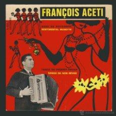 Discos de vinilo: FRANÇOIS ACETI.-EP HOMÈRE.PARIS.. Lote 54361932