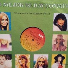 Discos de vinilo: LO MEJOR DE RAY CONNIFF. 8 LPS / CBS - 1977. ED/ READER'S DIGEST. TODOS CON FUNDA NEUTRA. ***/***. Lote 54363439