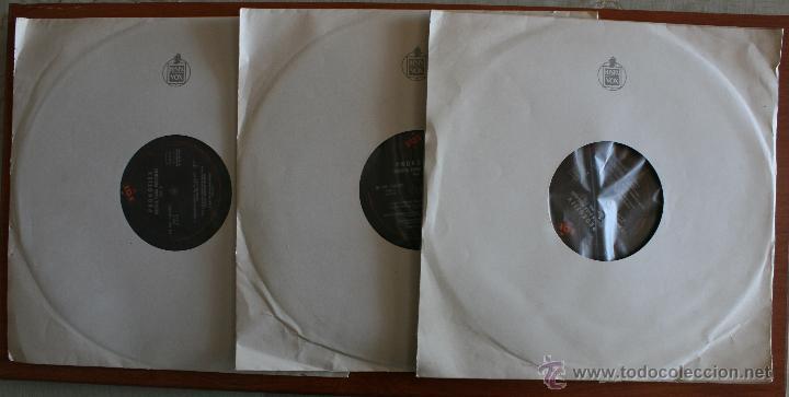 Discos de vinilo: COLECCIÓN DE 3 VOLUMENES DE DISCOS DE VINILO PROKOFIEV: MUSICA PARA PELICULAS – HISPA VOX - - Foto 8 - 54367960