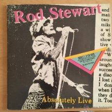 Discos de vinilo: ROD STEWART: ABSOLUTELY LIVE (2LP). Lote 54370798