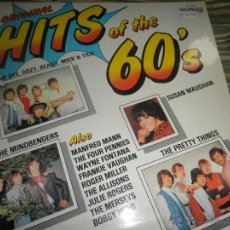 Discos de vinilo: HITS OF THE 60´S LP - EDICION INGLESA - CONTOUR RECORDS 1970 - STEREO - VARIUS -. Lote 54371261