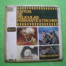 Discos de vinilo: EXITOS DE PELICULAS VOL 6 FERRANTE & TEICHER 1966 UNITED ARTISTS HU-067138 EP. Lote 54372553