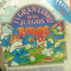 Discos de vinilo: LP DE LOS PITUFOS - EL GRAN LIBRO DE LOS JUEGOS. Lote 54372779