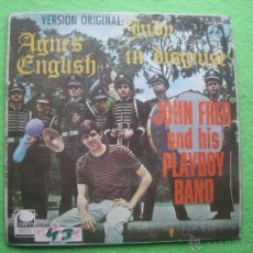 Discos de vinilo: SINGLE VINILO - 45 RPM - JOHN FRED AND HIS PLAYBOY BAND - JUDY IN DISGUISE - ED. CEM - 1968 - ESPAÑA. Lote 54373656