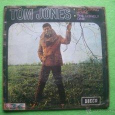Discos de vinilo: TOM JONES. I'M COMING HOME, THE LONELY ONE.1968 SG. Lote 54373926