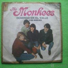 Discos de vinilo: SINGLE THE MONKEES DOMINGO EN EL VALLE PALABRAS RCA VICTOR 1967. Lote 54374205