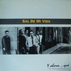 Discos de vinilo: SAL DE MI VIDA - Y AHORA... QUE - EDICIÓN DE 1993 DE ESPAÑA. Lote 54385250