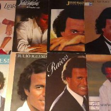 Discos de vinilo: LOTE 8 LP'S JULIO IGLESIAS. Lote 54392541