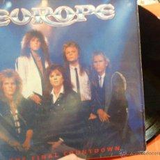 Discos de vinilo: LP EUROPE THE FINAL COUNTDOWN. Lote 54392825
