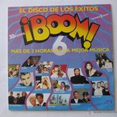 Disques de vinyle: LP VINILO RECOPILATORIO BOOM 6 HEROES DEL SILENCIO OLE OLE DEPECHE MODE PET SHOP BOYS. Lote 54401637