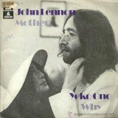 Discos de vinilo: JOHN LENNON / YOKO ONO SINGLE SELLO EMI-ODEON AÑO 1971 EDITADO EN ESPAÑA. Lote 54407355