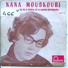Discos de vinilo - NANA MOUSKOURI / XYPNA AGAPI MOU / LA CANCION DE KHALIMA + 2 (EP 1960) - 54412294