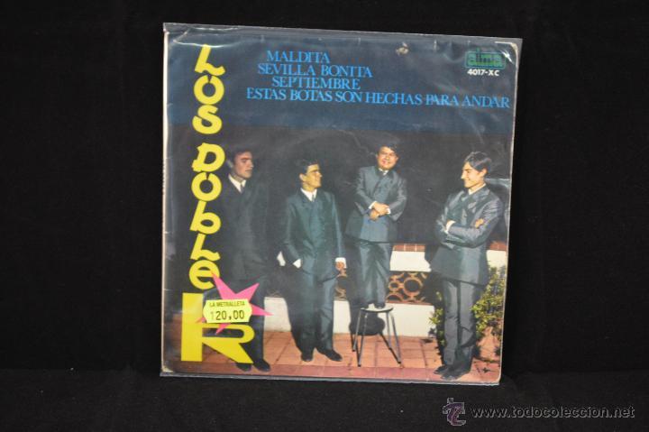LOS DOBLE R - MALDITA +3 - EP (Música - Discos de Vinilo - EPs - Grupos Españoles 50 y 60)