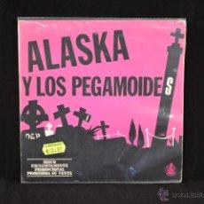 Discos de vinilo: ALASKA Y LOS PEGAMOIDES - EL JARDIN / VOLAR - SINGLE FLEXI. Lote 54413111