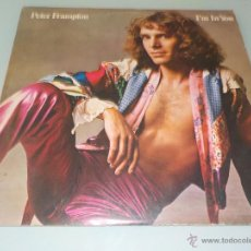 Discos de vinilo: PETER FRAMPTON .- LP-1973 .- I´M IN YOU + WON´T YOU BE MY FRIEND + OTRAS. Lote 54413486