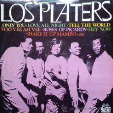 Discos de vinilo: THE PLATTERS - LOS PLATTERS - R@RE SPANISH LP SPAIN DOO WOP. Lote 54413860