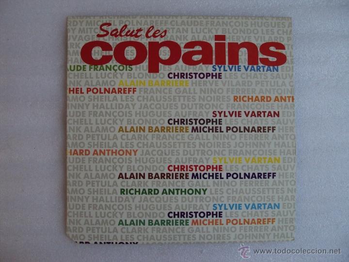 SALUT LES COPAINS. MAXI-SINGLE 45 R.P.M. EDICION ESPAÑOLA PDI S.A. 1987 (Música - Discos de Vinilo - Maxi Singles - Pop - Rock - New Wave Extranjero de los 80)