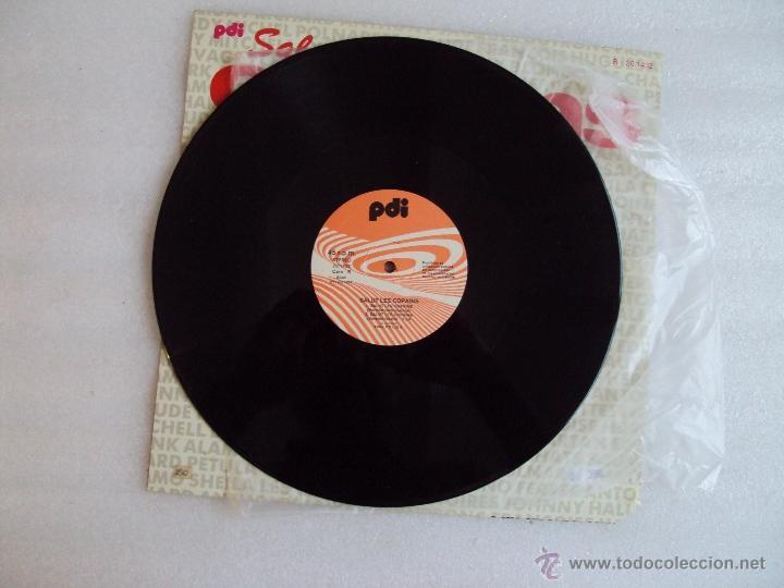 Discos de vinilo: SALUT LES COPAINS. MAXI-SINGLE 45 R.P.M. EDICION ESPAÑOLA PDI S.A. 1987 - Foto 3 - 54415199