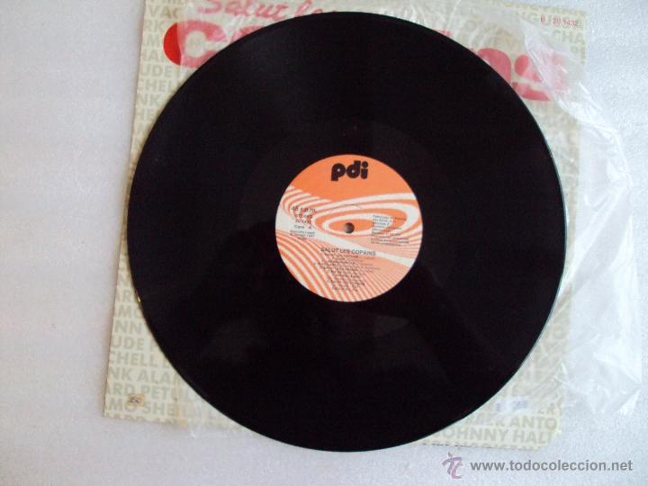 Discos de vinilo: SALUT LES COPAINS. MAXI-SINGLE 45 R.P.M. EDICION ESPAÑOLA PDI S.A. 1987 - Foto 4 - 54415199
