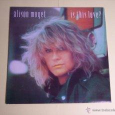 Discos de vinilo: SINGLE ALISON MOYET (IS THIS LOVE? - CBS-1986 - EXCELENTE ESTADO. Lote 54419783