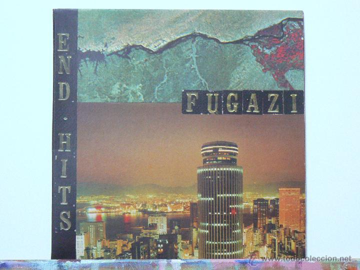 FUGAZI-END HITS (LP. DISCHORD RECORDS. 1998) VINILO GRIS (Música - Discos - LP Vinilo - Punk - Hard Core)
