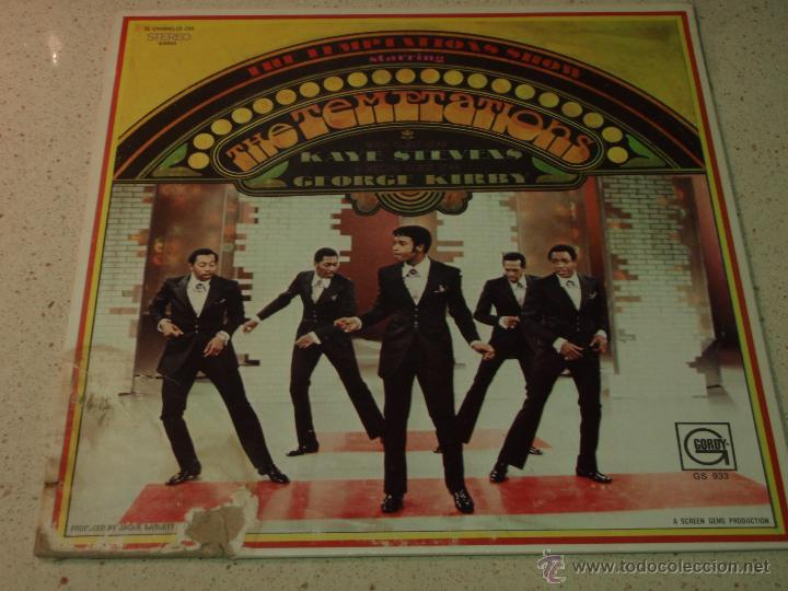 Discos de vinilo: THE TEMPTATIONS ( THE TEMPTATIONS SHOW ) USA - 1969 LP33 MOTOWN RECORDS - Foto 1 - 54426630