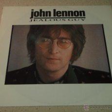 Discos de vinilo: JOHN LENNON ( JEALOUS GUY - GOING DOWN ON LOVE - OH YOKO! ) ENGLAND-1985 MAXI45 PARLOPHONE. Lote 54427016