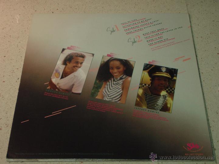 Discos de vinilo: SHALAMAR ( THREE FOR LOVE ) NEW YORK-USA 1980 LP33 SOUND OF LOS ANGELES RECORDS - Foto 2 - 54427262