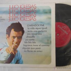 Discos de vinilo: JULIO IGLESIAS : GWENDOLYNE. 1970 COLUMBIA 30233. Lote 54430127
