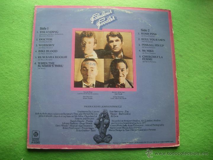 Discos de vinilo: FABULOUS POODLES FABULOUS POODLES LP SPAIN 1977 PDELUXE - Foto 2 - 54434712