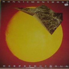 Discos de vinilo: RONNIE MONTROSE THE SPEED OF SOUND LP ENIGMA 01-73323. Lote 54439946