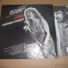 Discos de vinilo: LA ROSA (THE ROSE) (LP) BETTE MIDLER AÑO 1979 - CON HOJA INTERIOR. Lote 54442197