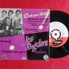 Discos de vinilo: LES BINGSTERS Y SU ORQUESTA - DOMANI + 3 CANCIONES // EP // SPAIN. Lote 54443499