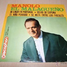 Discos de vinilo: MANOLO EL MALAGUEÑO. E.P. 1963. Lote 54443527