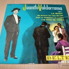 Discos de vinilo: JUANITO VALDERRAMA . EP . LA MAMÁ . BELTER 1964. Lote 54445124