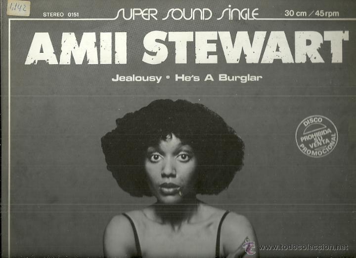 AMII STEWART / BLONDIE MAXI-SINGLE SELLO ARIOLA AÑO 1980 EDITADO EN ESPAÑA PROMOCIONAL (Música - Discos de Vinilo - Maxi Singles - Pop - Rock Extranjero de los 70)