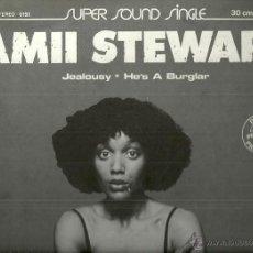 Discos de vinilo: AMII STEWART / BLONDIE MAXI-SINGLE SELLO ARIOLA AÑO 1980 EDITADO EN ESPAÑA PROMOCIONAL. Lote 54447335