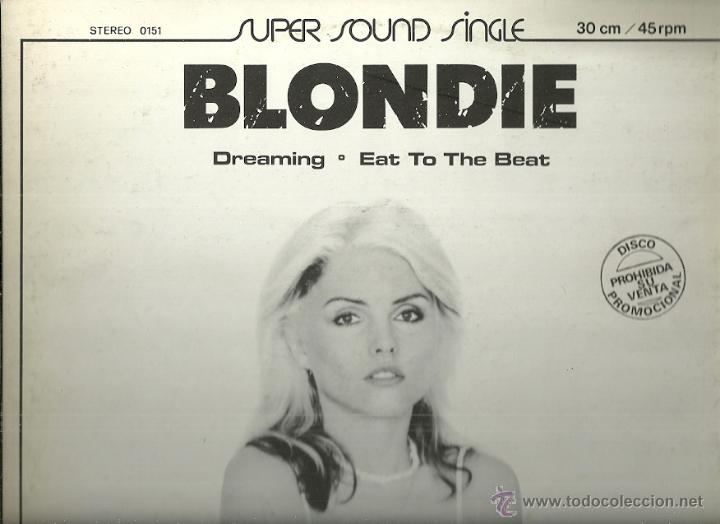 Discos de vinilo: AMII STEWART / BLONDIE MAXI-SINGLE SELLO ARIOLA AÑO 1980 EDITADO EN ESPAÑA PROMOCIONAL - Foto 2 - 54447335