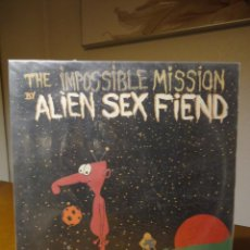 Discos de vinilo: ALIEN SEX FIEND. THE IMPOSSIBLE MISSION. Lote 54451749