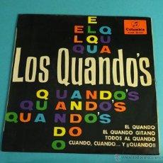 Discos de vinilo: LOS QUANDOS. COLUMBIA. Lote 54452816