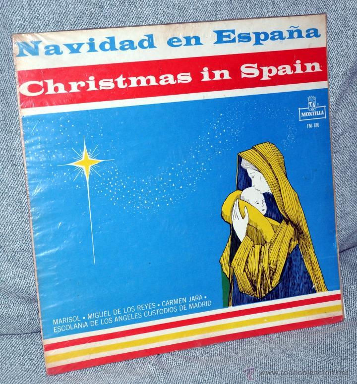 MARISOL Y OTROS - LP VINILO 12'' - NAVIDAD EN ESPAÑA - EDITADO EN COLOMBIA - AÑO 1962 (Música - Discos - LP Vinilo - Solistas Españoles de los 70 a la actualidad)